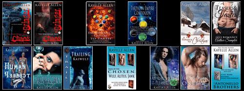 Books by Kayelle Allen @kayelleallen