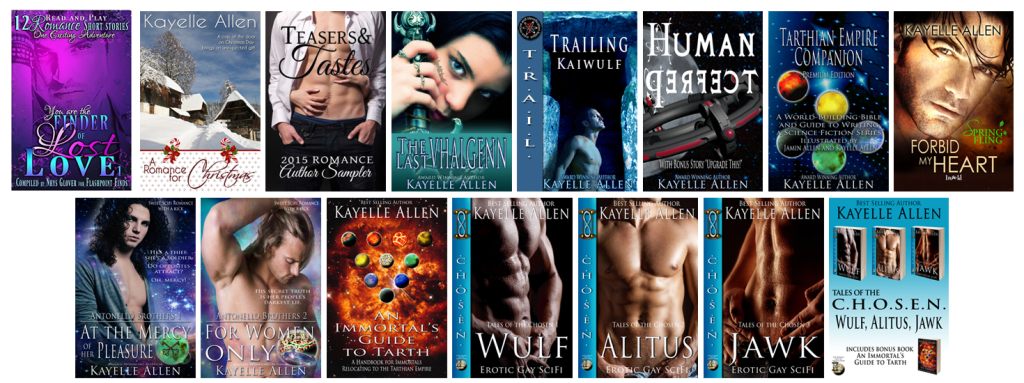 Books by Kayelle Allen