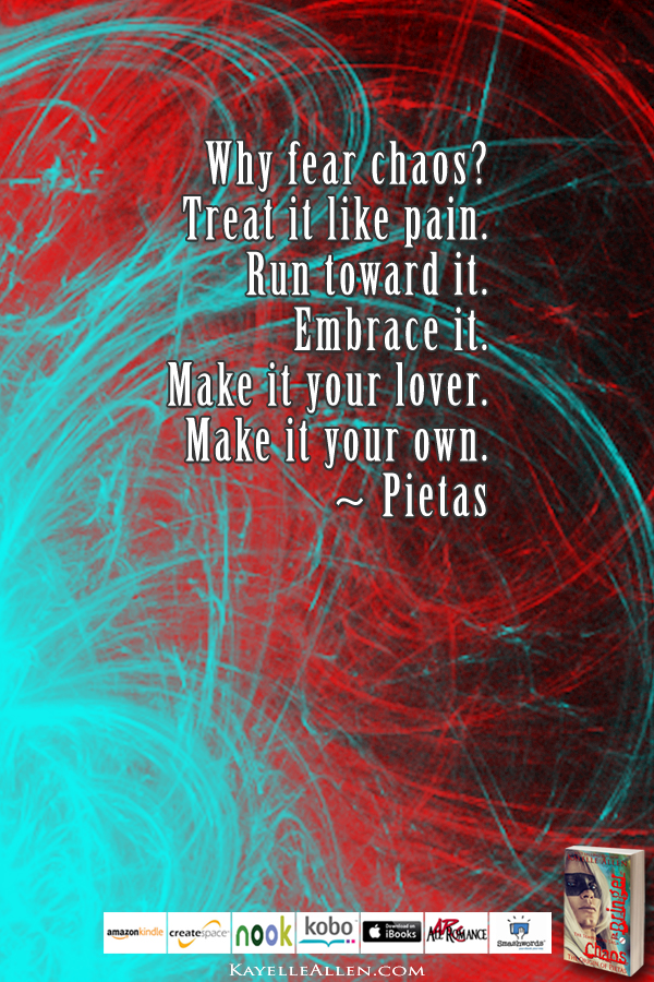 Pain and Death: Part of Life #ChaosIsComing #scifi @kayelleallen #chaos #quote