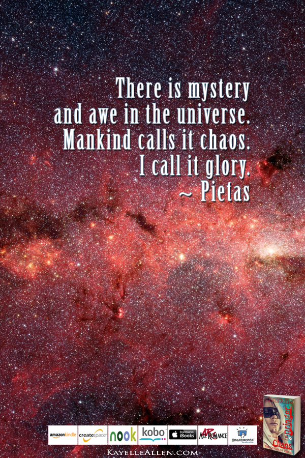 Don't Call Me Six #ChaosIsComing #scifi @kayelleallen #chaos #quote