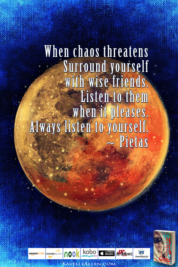 Never Negotiate with Humans #ChaosIsComing #scifi @kayelleallen #chaos #quote