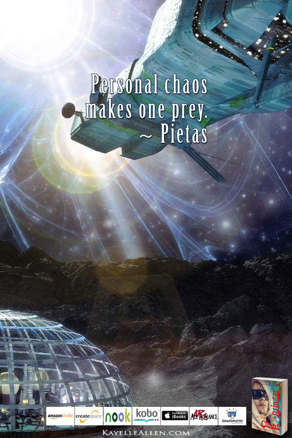 A Lucky Hit #ChaosIsComing #scifi @kayelleallen #chaos #quote
