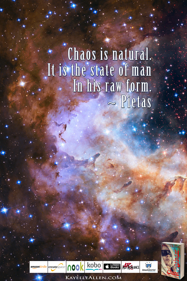 Empathic Rage: a tragic reveal #ChaosIsComing #scifi @kayelleallen#chaos #quote