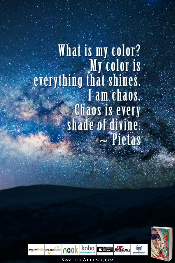 Human, you are unworthy #ChaosIsComing #scifi @kayelleallen #chaos #quote