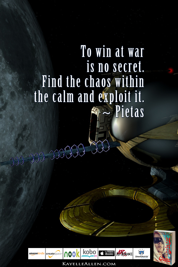 A Tantrum and its Lesson #ChaosIsComing #scifi @kayelleallen #chaos #quote