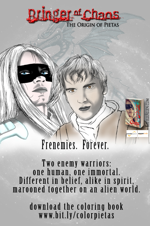 Meet the frenemies from Bringer of Chaos #scifi @kayelleallen