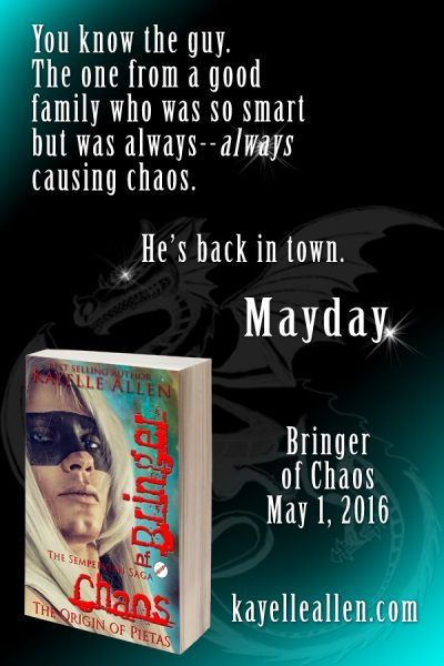 Bringer of Chaos by Kayelle Allen is out May 1, 2016 @kayelleallen #scifi