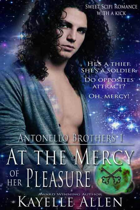 At the Mercy of Her Pleasure @kayelleallen Sci Fi Romance