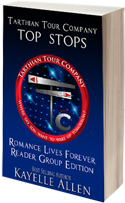 Tarthian Tour Company Top Stops by Kayelle Allen #SciFi #SpaceOpera