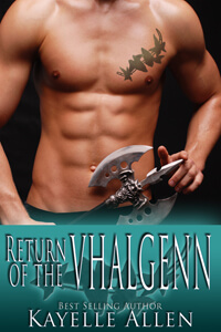 Return of the Vhalgenn #scifi #romance by @kayelleallen