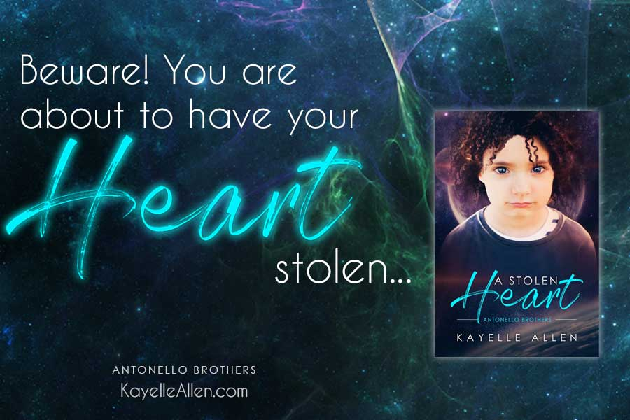 The truth about Kaydn devastates Luc #Excerpt A Stolen Heart #SciFi #MFRWhooks