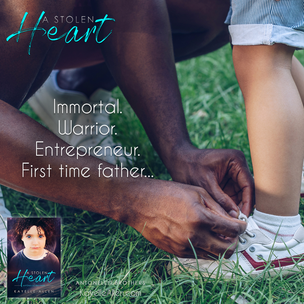 """What's the rule?"" Can first-time-father Luc teach one? #Excerpt A Stolen Heart #SciFi #MFRWhooks"