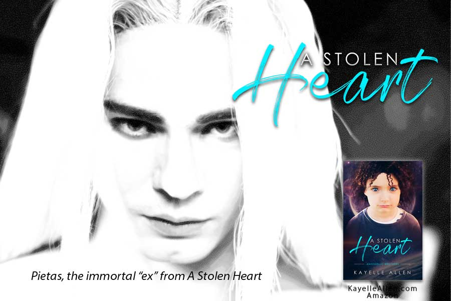 Find a kid. That's it? Right... #Excerpt from A Stolen Heart by Kayelle Allen #SciFi #MFRWhooks