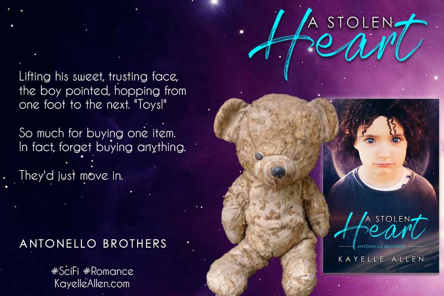You make one visit to Toy Planet and the media goes wild #Excerpt from A Stolen Heart #SciFi #MFRWhooks