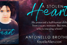 A Stolen Heart, Antonello Brothers, Antonello Brothers prequel, immortal heroes, Luc Saint-Cyr, MFRW, Pietas, Science Fiction and Fantasy Novels, Space Opera, Young Adult