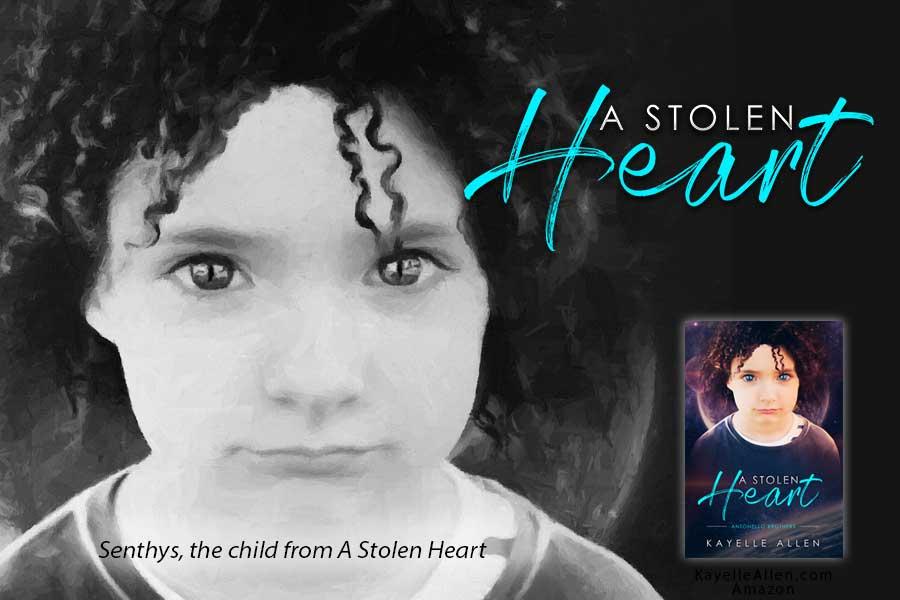 #NewRelease A Stolen Heart by Kayelle Allen #SciFi #MFRWhooks #MFRWorg