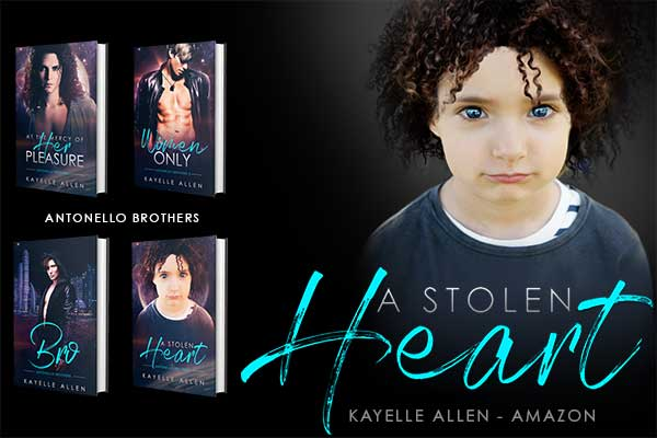 How can Luc make this right for Kaydn #Excerpt A Stolen Heart #SciFi #MFRWhooks