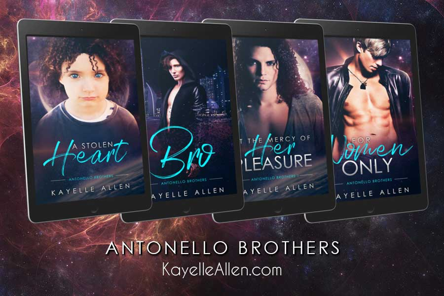 The Antonello Brothers #SciFi #SpaceOpera #Romance by Kayelle Allen