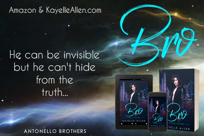 Advanced abilities - just what a thief needs #SciFi #MFRWhooks #Excerpt Bro by Kayelle Allen