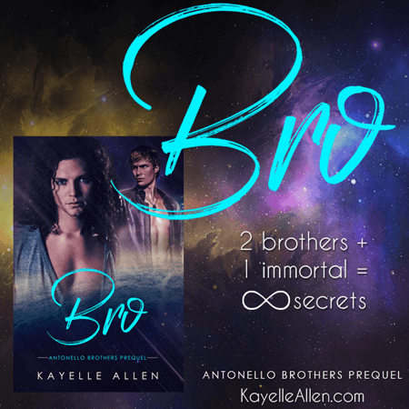 The Invisible Truth - an Excerpt from Bro. New #SciFi by Kayelle Allen #MFRWhooks