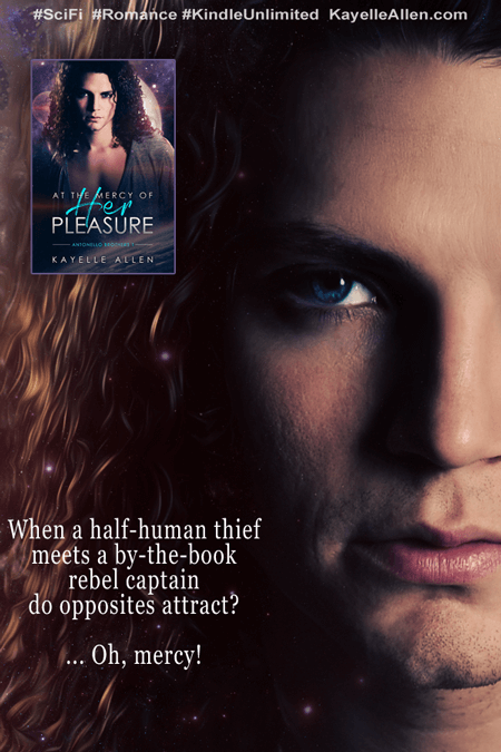 Half-Human Thief Meets by-the-Book Captain (SciFi Romance) #MFRWhooks #MFRWauthor
