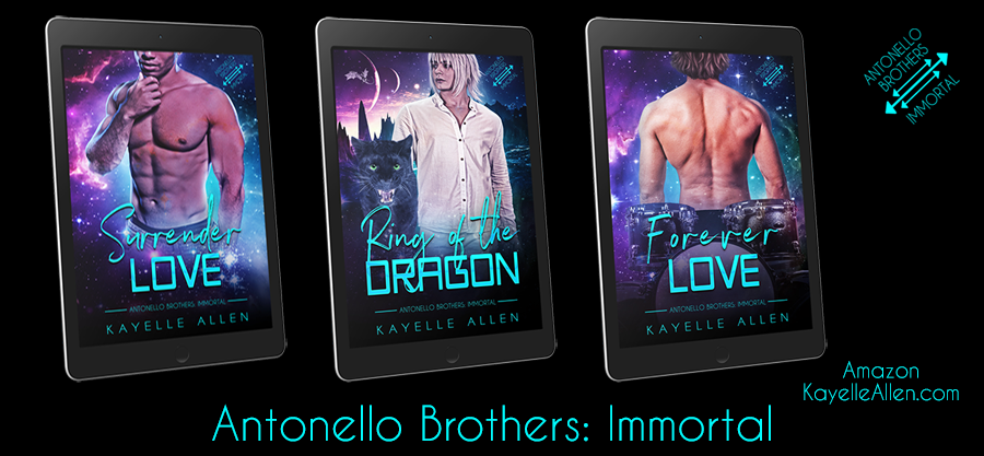 Antonello Brothers: Immortal - Because Romance Lives Forever #SciFi #LGBTQ #Romance