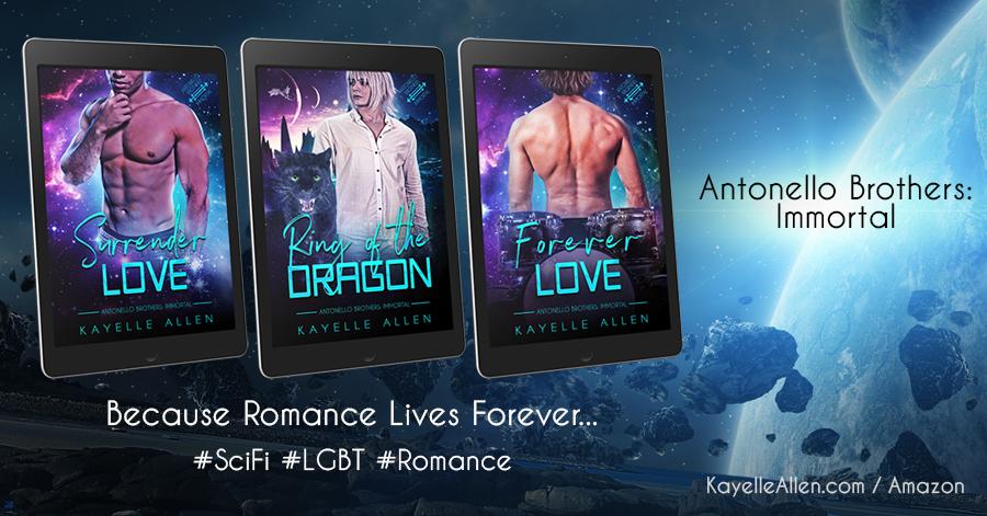 Antonello Brothers: Immortal - Because Romance Lives Forever #SciFi #LGBTQ #Romance