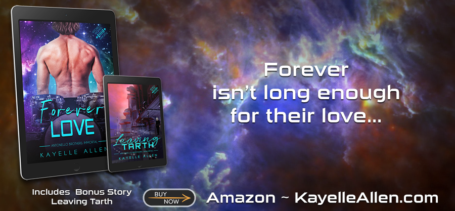 Oh yeah? So claw me #Excerpt Forever Love #SciFi #MMRomance