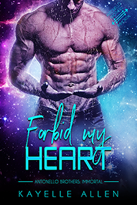 Forbid My Heart by Kayelle Allen #MM #SciFi #Romance