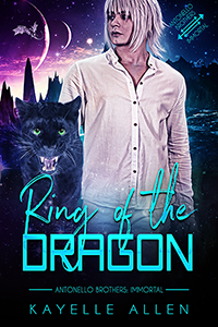 Ring of the Dragon by Kayelle Allen #MM #SciFi #Romance
