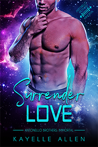 Surrender Love by Kayelle Allen #MM #SciFi #Romance
