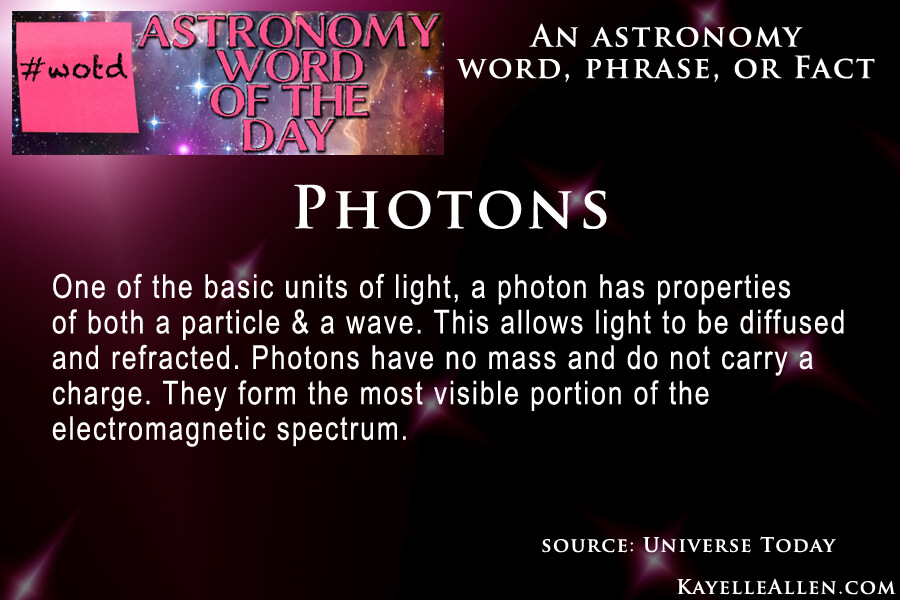 Photon: more than just torpedoes @kayelleallen #astronomy #wotd #scifi