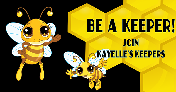 Join Kayelle's Keepers - a fun Facebook group for readers