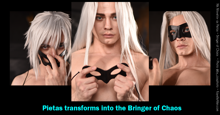 Nik Nitsvetov as Pietas Bringer of Chaos from books by Kayelle Allen
