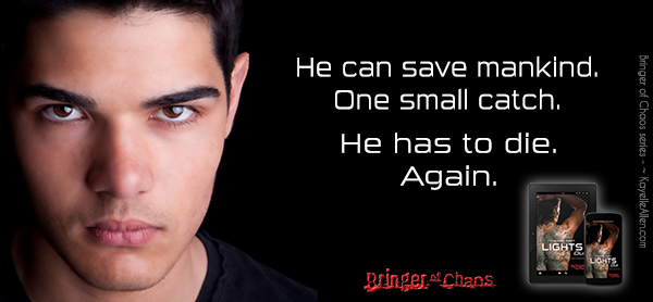 Oh no. This is going to be trouble. Excerpt from Lights Out #SciFi #MFRWhooks #FreeBook