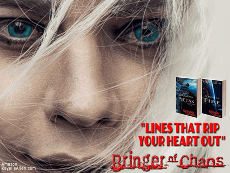 Nik Nitsvetov as Pietas in the Bringer of Chaos series by Kayelle Allen