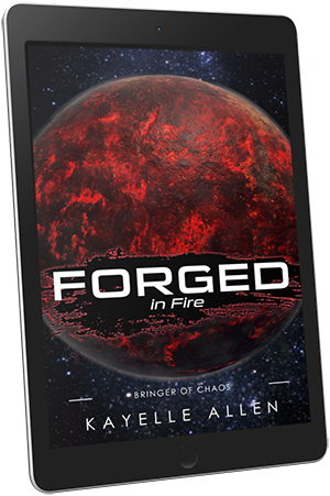 Forged in Fire: Bringer of Chaos #SpaceOpera #SciFi