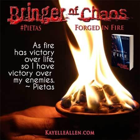 The blood of my enemies #SciFi #Pietas #MFRWhooks
