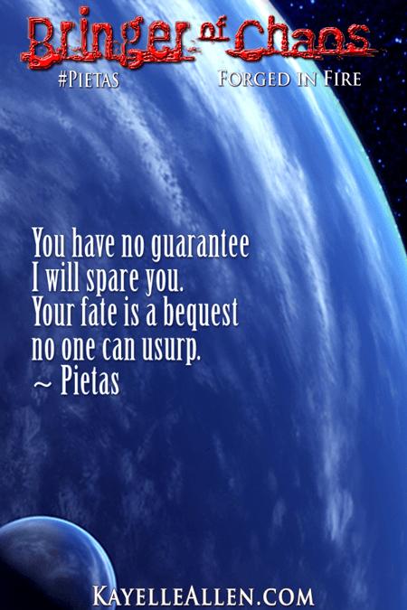 Guarantee? Not for a human #Pietas #SciFi #MFRWhooks