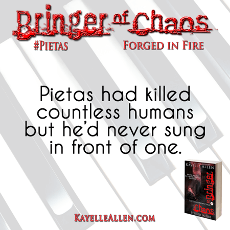Pietas sings like an angel but his voice can kill #Pietas #SciFi #MFRWhooks