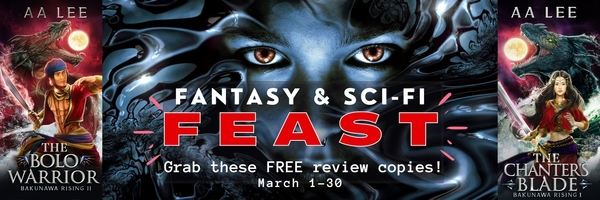 Fantasy & Science Fiction Feast - Support authors by reading and reviewing books! #Fantasy #SciFi #Dragons #BookFair