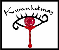 Jamin created the Kumwhatmay logo for the rock group in Kayelle Allen's books