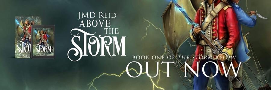 JMD Reid Above the Storm #DarkFantasy #Fantasy