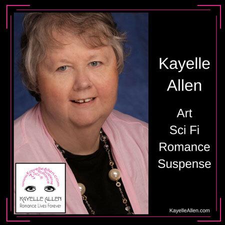 Kayelle Allen, scifi romance author