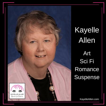 Kayelle Allen, sci fi, romance, suspense, art