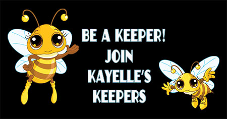 Be a Keeper! Join Kayelle's Keepers on Facebook