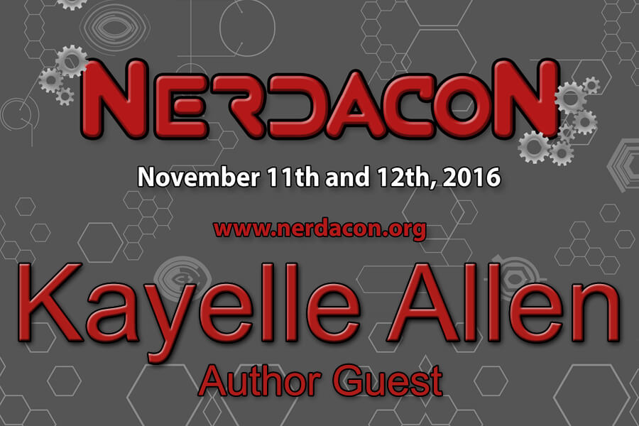 NerdaCon - Columbus GA Nov 11-12 #cosplayer #gamer @kayelleallen