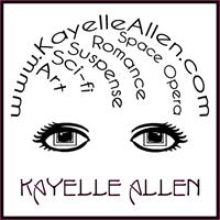 New Logo: Art, Sci Fi, Space Opera, Romance, Suspense - Kayelle Allen #MFRWhooks #SciFi #SpaceOpera