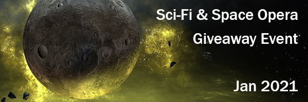 Join multiple #SF authors for a giveaway of #SciFi and #SpaceOpera books