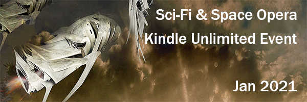 Join multiple #SF authors for a Kindle Unlimited #SciFi #BookFairevent #KU